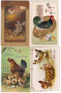 4 - Easter Cards with Chicks