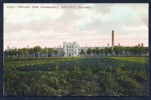 Nebraska State Penitentiary Lincoln NE unused c1910's