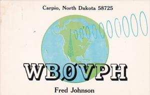 North Dakota Carpio WBO VPH Fred Johnson