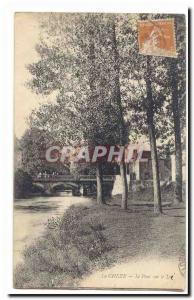 The Cheze Old Postcard The bridge over the Lie