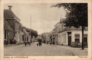CPA Groeten uit APPINGEDAM Wijkstraat NETHERLANDS (706311)