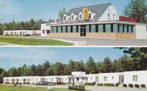 2-Views, LORNE, Virginia; Bowie's Motel and Restaurant, 40-60s