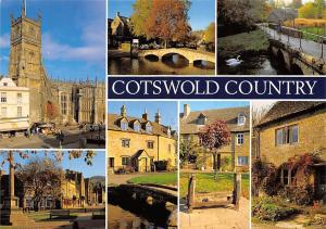 Cotswold Country multiviews Cirencester Bibury Broadway Lower Slaughter Cottage