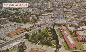 Arizona Tucsons Showing Southern Pacific Hospital In Right Foreground