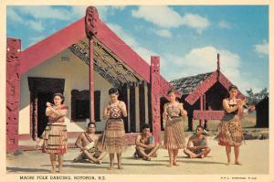 N.Z. Maori Folk Dancing, Rotorua, Native People