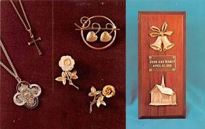 Jewelry Advertising Old Vintage Antique Post Card Creed Unused