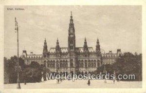 Rathaus Wien, Vienna Austria Unused