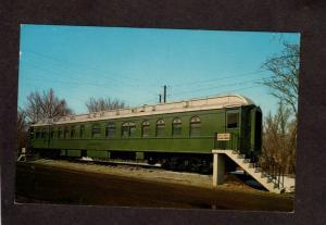 PA Loretto Railroad Train Car Charles Schwab Bloomsburg Pennsylvania Postcard