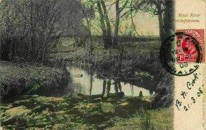 South Africa 1908 Mooi River Potchefstroom postcard