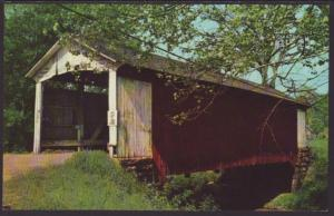 Bille Creek Covered Bridge,Rockville,IN Postcard