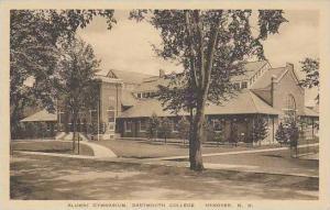 New Hampshire Hanover Dartmouth College Alumni Gymnasium Albertype