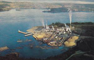 Canada Elk Falls Pulp and Paper Mill Vancouver Island British Columbia
