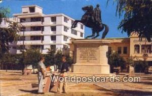 Columbia Santa Marta Monumento a Simon Bolivar