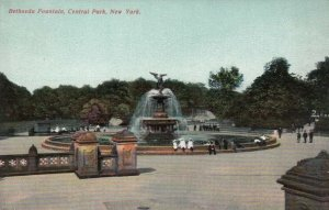 NEW YORK CITY , New York, 1900-10s ; Bethseda Fountain, Central Park