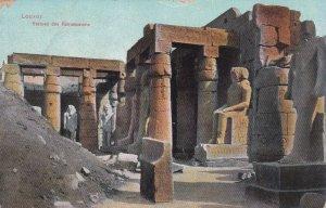 EGYPT , 00-10s ; Louxor ; Statues des Ramesseums
