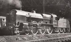 LMS Class 4-4-0 Number 4165 Train Henry Fowler Vintage Photo
