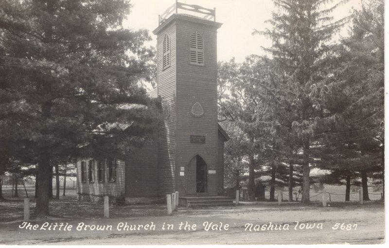 US    PC4686  LITTLE BROWN CHURCH IN THE VALE, NASHUA, IOWA
