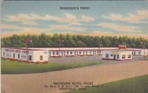 Tennessee Maryville Travelers Hotel Court Highway U S 441 sk2644