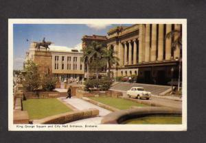 Australia Queensland Brisbane King George Square City Hall Postcard  Post Card
