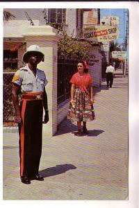 Black Police Officer, Jamaica, Novelty Trading
