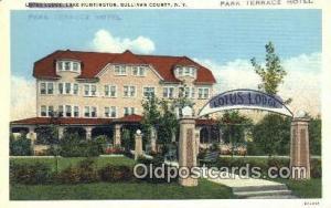 Park Terrace Hotel, Sullivan County, NY, USA Motel Hotel Postcard Post Card O...
