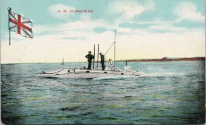 HM Submarine Unused The Star Series Postcard G45