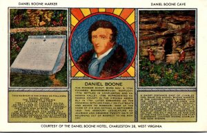 West Virginia Daniel Boone Marker and Cave