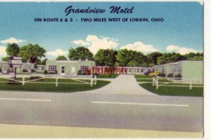 GRANDVIEW MOTEL two miles west of LORAIN, OH