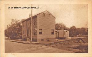 East Millstone NJ Railroad Station Train Depot Postcard
