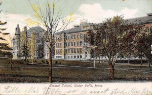 Cedar Falls Iowa~Normal School~1906 UDB Postcard SHARP!