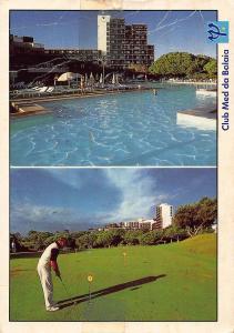Portugal Club Med da Balaia Golf Hotel Swimming Pool Postcard