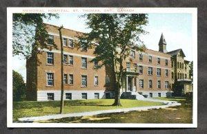 5295 - ST THOMAS Ontario 1930s Memorial Hospital