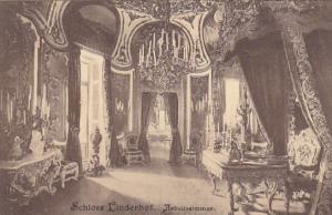 Germany Schloss Linderhof Arbeitszimmer