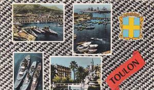 France Toulon Lumiere et Beaute de la Cote d'Azur 1965
