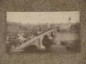 London Bridge., Early 1900`s, Unused Divided Back