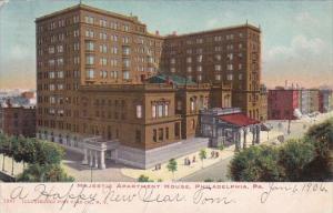 Pennsylvania Philadelphia Majestic Apartment House 1905