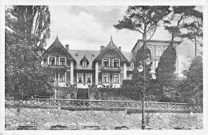 SVENDBORG DENMARK~CHRISTIANSMINDE BEDEHOTEL-1945 U S SOLDIER FREE POST POSTCARD