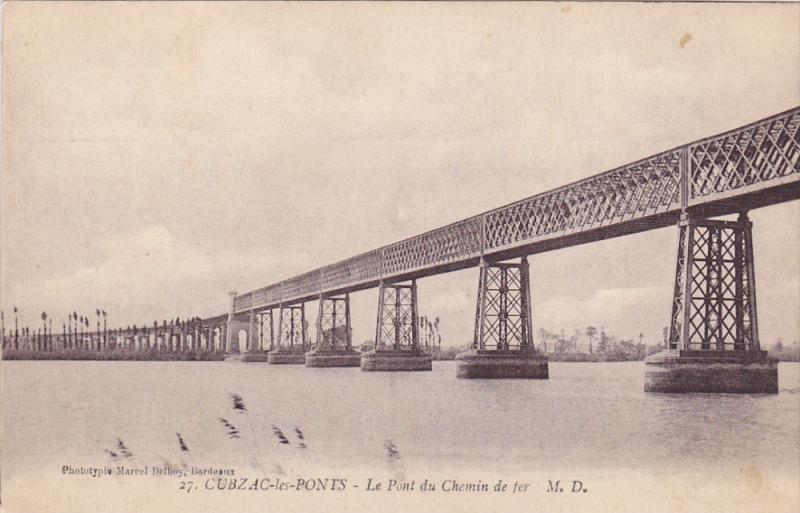 Cubzac-les-Ponts , France , 00-10s ; Le Pont du Chemin de fer