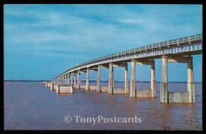 Bridge Across Santee River and Lake Marion