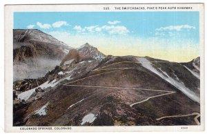The Switchbacks, Pike's Peak Auto Highway, Colorado Springs, Colorado