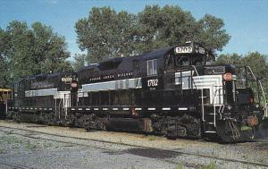 Finger Lakes Railway GP-9 Locomotives #1702 and #1703 New York