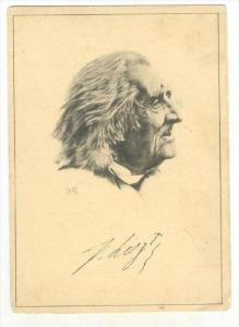 Musical composer Franz Lizt, 1910-30s