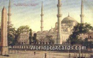 Mosque of Sultan Ahmid Turkey Unused