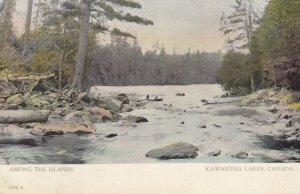 KAWARTHA LAKES, Ontario, Canada, 1900-10s; Scene Among the Islands