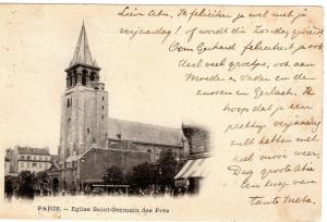 France Paris Eglise saint germain des pres 01.30