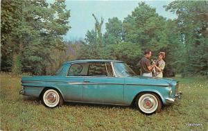 1962 Studebaker Auto Dealership Lark Daytona Hardtop postcard 8580