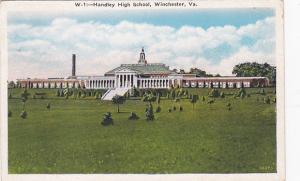 WINCHESTER , Virginia , 1910s; Handley High School