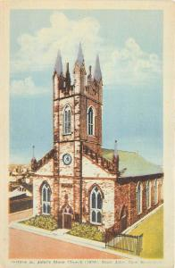 B4883 Historic St John s Stone Church  front/back scan