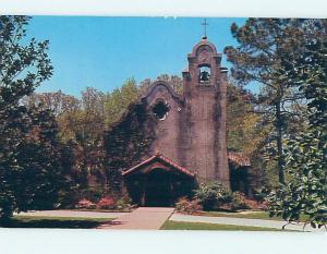 Unused Pre-1980 CHURCH SCENE Camden South Carolina SC L3512