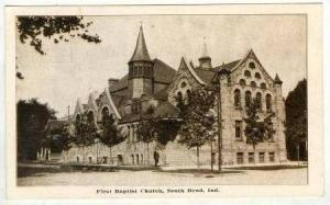 First Baptist Church, South Bend, Indiana, 1912